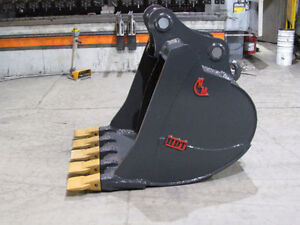 EXCAVATOR DIGGING BUCKET - NEW - VARIOUS SIZES AVAILABLE