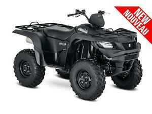 KINGQUAD 500 AXI POWER STEERING MATTE BLACK West Island Greater Montréal image 1