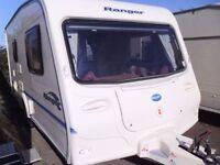 2004 Bailey Ranger 460/2 inc Awning and Motor Mover. 2 Berth Touring Caravan.