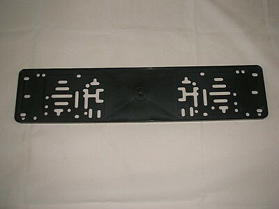 Plastic Number Plate Backing Plinth All Car Repairs NEW