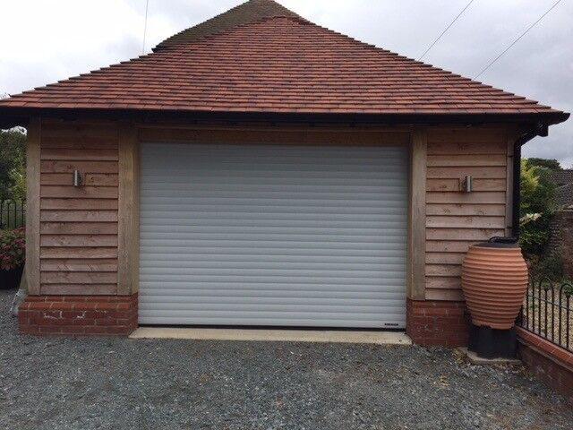 Electric Roller Garage Door Make Hormann Excellent Condition