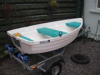 Walker Bay 8 row boat/ tender