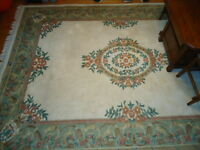 Large Indian style rug for sale