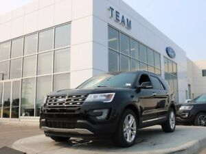 2017 Ford Explorer LIMITED, 301A, SYNC3, NAV, REAR CAMERA, TWIN