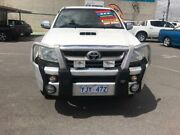 2009 Toyota Hilux KUN26R 08 Upgrade SR5 (4x4) White 4 Speed Automatic Dual Cab Pick-up Mitchell Gungahlin Area Preview