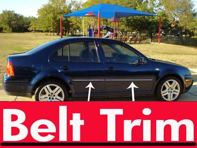 VW JETTA Volkswagen CHROME SIDE BELT TRIM DOOR MOLDING 99 00 01 02 03 04 01 02 03 Trim