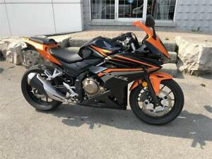 2017 Honda CBR500R ABS - Immaculate Condition