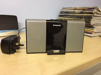 Polaroid Portable 30 Pin Docking Speaker for iPod/iPhone