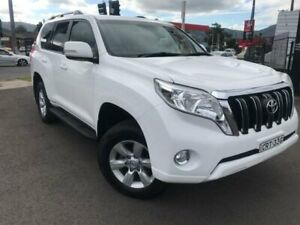 2014 Toyota Landcruiser Prado KDJ150R MY14 GXL (4x4) White 5 Speed Sequential Auto Wagon Unanderra Wollongong Area Preview