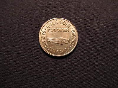 Gold Coin Car Wash Token - Oakland, San Ramon, Concord CA Car Wash $1 Coin