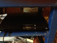 160gb ps3 slim, one controller,headset and 14 games