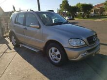 2003 Mercedes-Benz ML350 W163 MY03 Classic Gold 5 Speed Automatic Wagon Yagoona Bankstown Area Preview