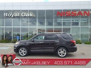 2013 Ford Explorer Limited - leather, nav, Auto Park!!