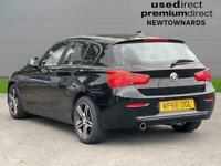 2016 BMW 1 Series 118D Sport 5Dr [Nav] Hatchback Diesel Manual
