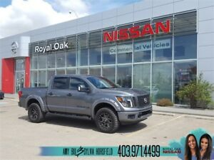 2018 Nissan Titan SV Midnight Edition **3'' Rough Country Lift**