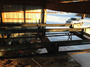 Bucking Deck and Sawmill For Sale - Financing Available!