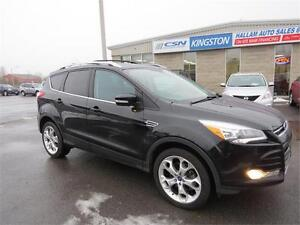2013 Ford Escape Titanium, Leather, Bluetooth, 4WD, Navigation