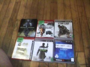 Selling 6 Ps3 Games