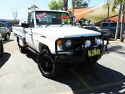 1996 Toyota Landcruiser HZJ75RP White 5 Speed Manual Cab Chassis Minchinbury Blacktown Area Preview