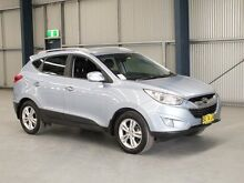 2012 Hyundai ix35 LM MY11 Elite (AWD) Silver 6 Speed Automatic Wagon Dubbo 2830 Dubbo Area Preview