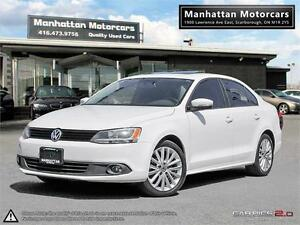 2012 VW JETTA 2.5L SPORTLINE |LEATHER|ROOF|ALLOYS|NO ACCIDENT