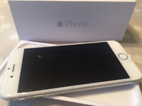 iPhone 6 -16gb white/silver back - unlocked