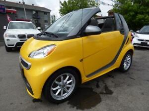 2015 SMART FORTWO ELECTRIC DRIVE PASSION CABRIOLET (MAGS, FULL!)