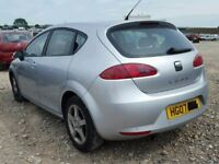 SEAT LEON 2007 BREAKING FOR SPARES DIESEL AND PETROL TEL 07814971951 HAVE FEW IN STOCK