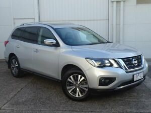 2018 Nissan Pathfinder R52 Series II MY17 ST-L X-tronic 2WD Silver 1 Speed Constant Variable Wagon Bundoora Banyule Area Preview