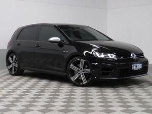 2016 Volkswagen Golf AU MY16 R Black 6 Speed Direct Shift Hatchback Jandakot Cockburn Area Preview
