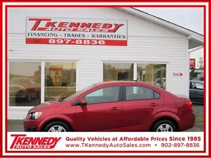 2012 CHEVROLET SONIC ONLY $7,788.LOW PAYMENTS OAC