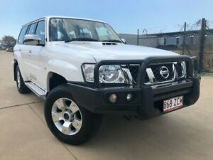 2016 Nissan Patrol Y61 GU 10 ST White 4 Speed Automatic Wagon Garbutt Townsville City Preview
