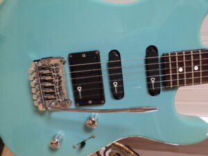 Guitare Charvette   by Charvel  baby blue 1989-92
