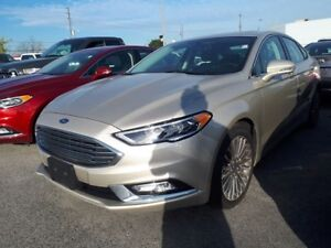2017 Ford Fusion Titanium, AWD, Back Up Camera, NAV, Heated Seat