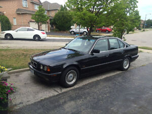 1995 BMW 540i For Sale Mint Condition. Black on black leather, p