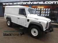 2010 Land Rover Defender 110 2.4TDCi Hard Top A/C E/W *22,000miles* Diesel white