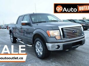 2012 Ford F-150 XLT 4x4 SuperCrew Cab 6.5 ft. box 145 in. WB