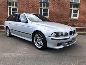 2002 BMW 530i E39 MY02 Executive Grey Sports Automatic Wagon Hamilton North Newcastle Area Preview