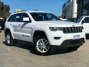 2018 Jeep Grand Cherokee WK MY18 Laredo White 8 Speed Sports Automatic Wagon Hoppers Crossing Wyndham Area Preview