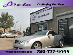 Used 2001 Mercedes-Benz SLK-Class Convertible