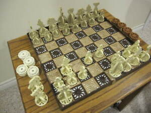Chess/Checker Set