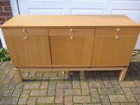 IKEA Oak Sideboard in VGC