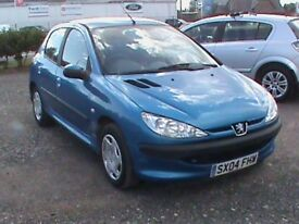 PEUGEOT 206S 1.4 AUTOMATIC 5 DR BLUE MOT 30/7/19,CLICK ON VIDEO LINK ON OUR GUMTREE ADVERT TO SEE IT