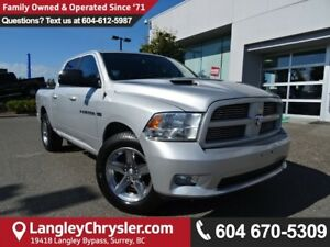 2011 Dodge Ram 1500 Sport *LOCAL BC TRUCK* DEALER INSPECTED*