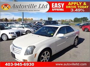 2006 Cadillac CTS LEATHER SUNROOF 90 DAYS NO PAYMENT