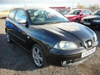 SEAT IBIZA 1.9 FR TDI 3d 130 BHP (black) 2006