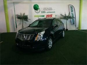 CADILLAC SRX 2015 AWD LUXURY**VOLANTS ET BANCS CUIRS CHAUFFANTS+