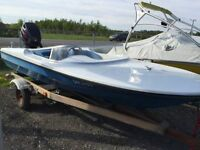 """15.5 Ft. SPEED BOAT & TRAILER  """"REDUCED"""""""