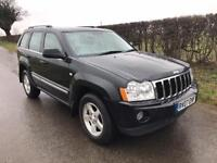 2007 07 JEEP GRAND CHEROKEE V6 CRD LIMITED DIESEL