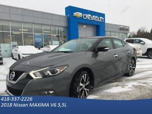 2018 Nissan Maxima SV AUTOMATIQUE -V6 -CUIR -GPS